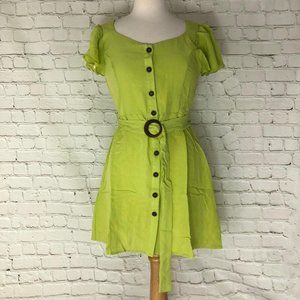 Large Green Button Down Dress Nordstrom